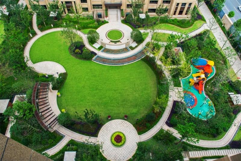 Công trình xanh Sunland Celebrity Garden
