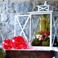 Trang trí sân vườn biệt thự cho mùa giáng sinh an lành