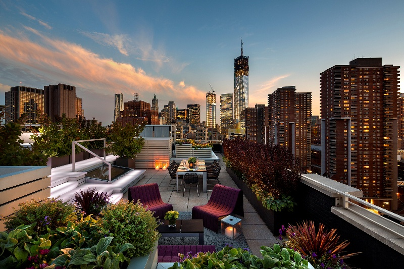 Roof Garden at Hubert Street Loft