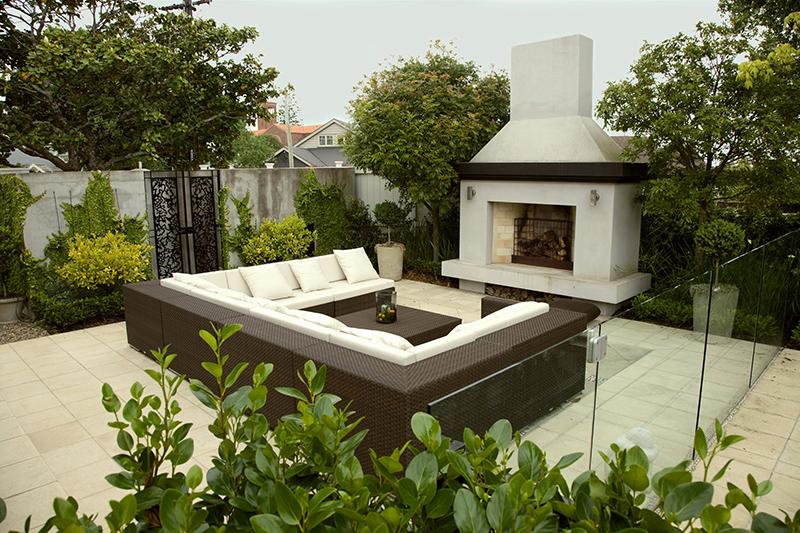 modern garden design ideas nz Beautiful enchanting garden landsc