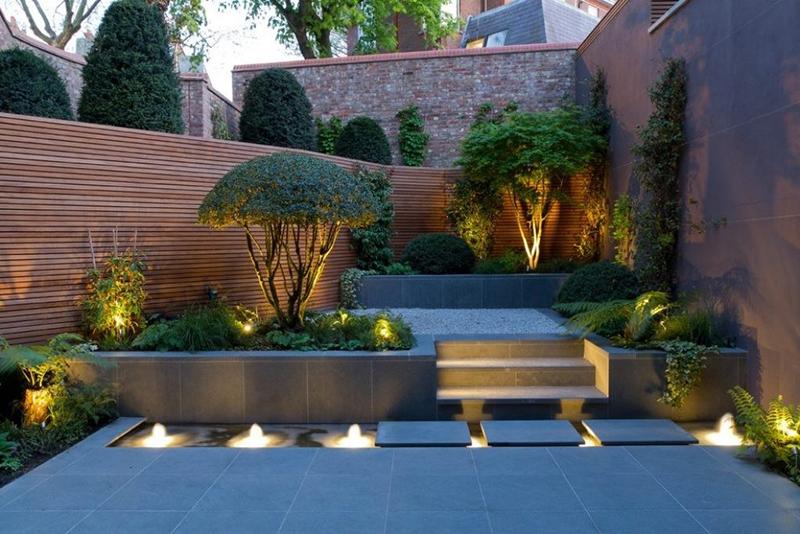 Mẫu thiết kế sân vườn thoáng, đẹp, tiết kiệm chi phí