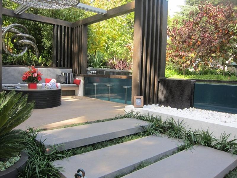 Những thiết kế sân vườn biệt thự hiện đại