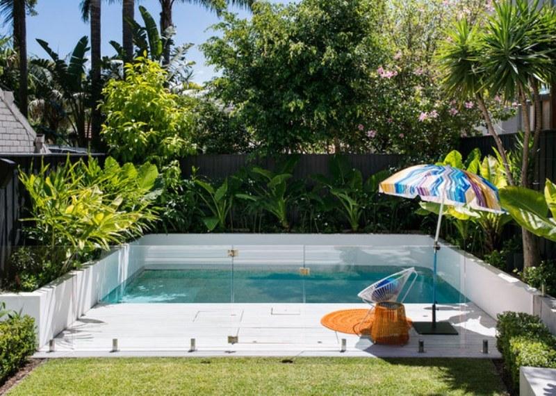 Bể bơi sân vườn cứu nóng cho ngày hè oi bức