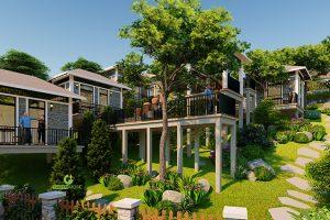 Thiết kế kiến trúc và cảnh quan Resort nghỉ dưỡng cô Lan