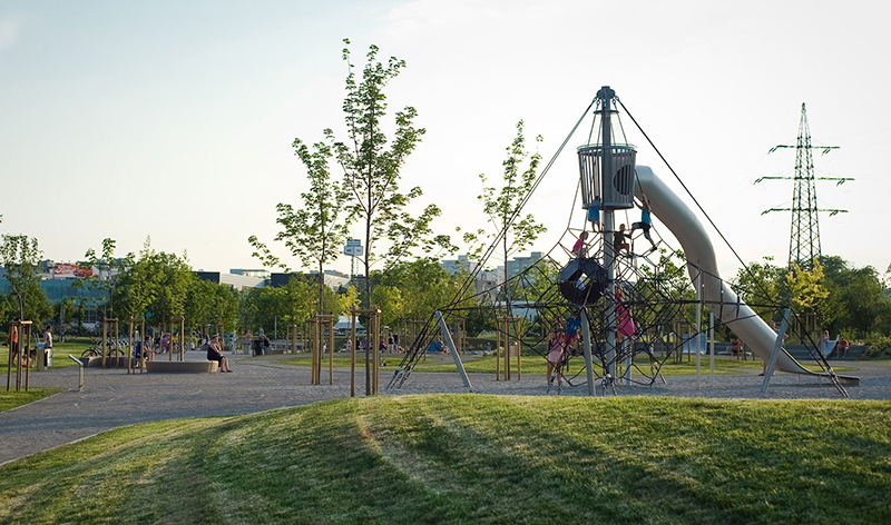 playground in Ljubljana