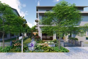Thiết kế sân vườn gần gũi với thiên nhiên cho gia đình bạn