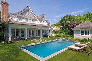 Đã mắt với những sân vườn với bể bơi xanh mát cho ngày hè
