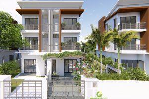 Thiết kế sân vườn anh Huy khu đô thị Gamuda