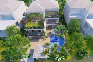 Thiết kế sân vườn khu đô thị Ecopark