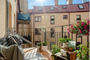 Chiêm ngưỡng vườn ban công chung cư mát mắt cho ngày hè