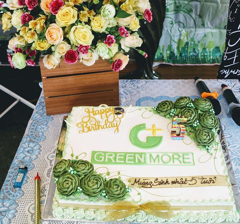 Chúc mừng sinh nhật Greenmore Việt Nam