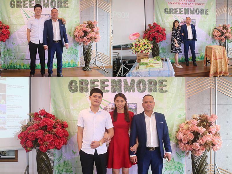 Những khuôn mặt rạng rỡ của cán bộ công nhân viên Greenmore Việt Nam trong buổi lễ.