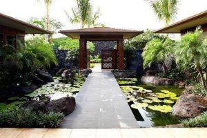 20+ Thiết kế sân vườn nhiệt đới đẹp