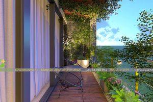 Thiết kế vườn ban công chung cư Mỹ Đình Pearl