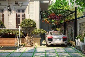 Hạng mục giao thông – Sân vườn, vườn trên mái