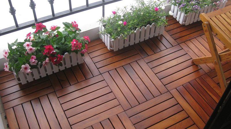 Lát vỉ sàn gỗ tự nhiên
