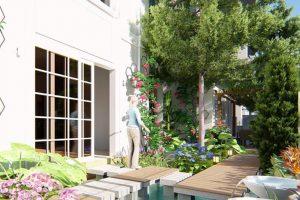 Cây xanh trong thiết kế sân vườn – phần 1