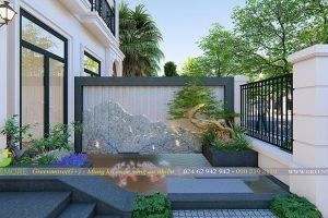 Thiết kế sân vườn Vinhome Green Bay
