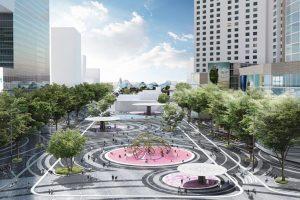 Đà Nẵng thiết kế cảnh quan quảng trường trung tâm mới