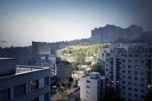 La Serre d'Issy – Kiến trúc xanh độc đáo cho tòa chung cư của ISSY