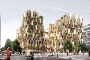 Khám phá thiết kế cảnh quan khách sạn xanh tại Paris