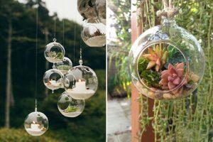 Những vật dụng trang trí cho sân vườn đẹp lung linh
