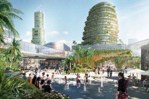 Forest City cảnh quan thành phố tương lai tại Malaysia