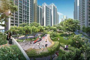 Punggol Northshore thiết kế đô thị xanh của Singapore