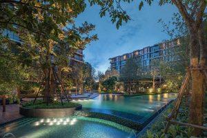 Mori Haus – Thung lũng cảnh quan khu chung cư ở Bangkok
