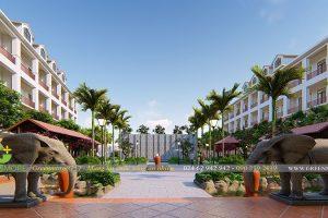 Thiết kế cảnh quan khách sạn 5 sao The Senna Hotel – Huế