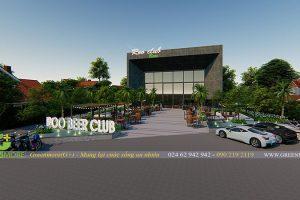 Thiết kế sân vườn nhà hàng ROO Beer Club – Phú Quốc