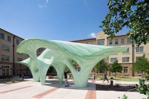 Zephyr Pavilion chòi nghỉ độc đáo tại đại học Texas Tech